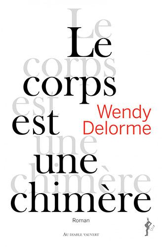 couverture corps chimere wendy delorrme