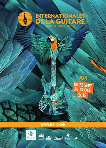 affiche festival international guitare