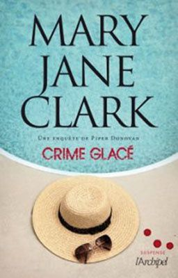 couverture crime glace mary Jane clark