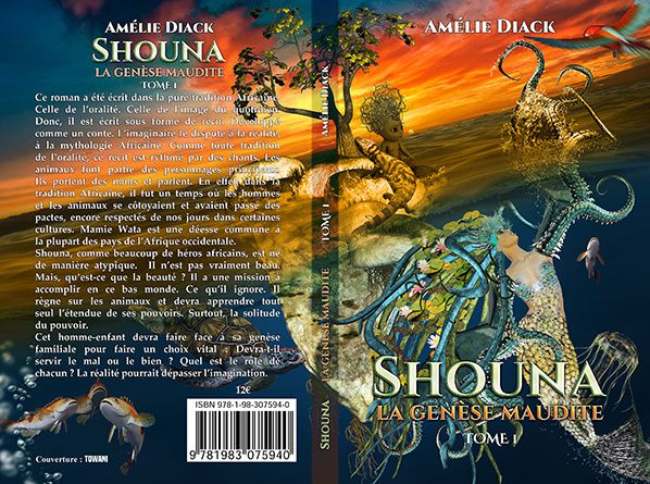 couverture shouna amelie diak