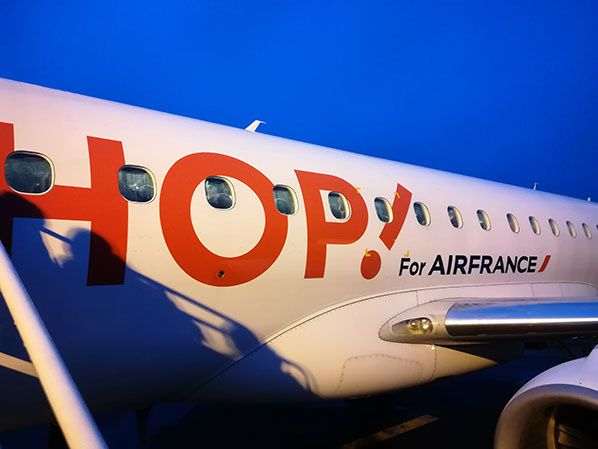 hop air france logo