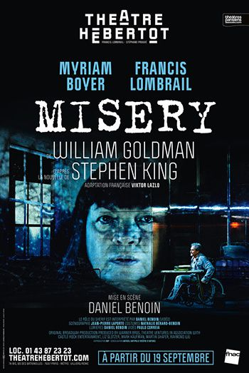 affiche misey theatre stephen king