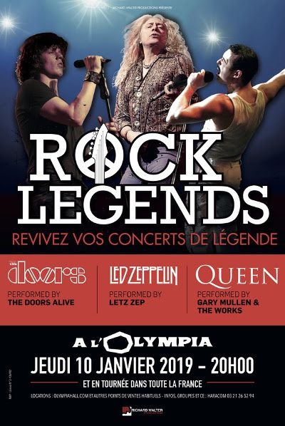 affiche rock legends