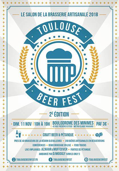 flyer Toulouse BeerFest