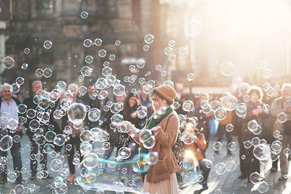 sandra japonaise bulles
