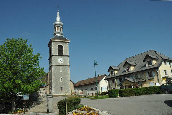eglise saint pal en chablais clocher  bulbe