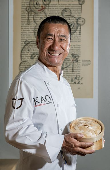 chef espagnol Jose Maria Kao