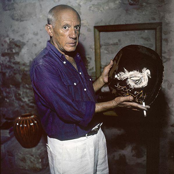Picasso dans son atelier