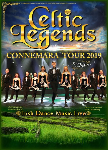 affiche connemara tour 2019 celtic legends