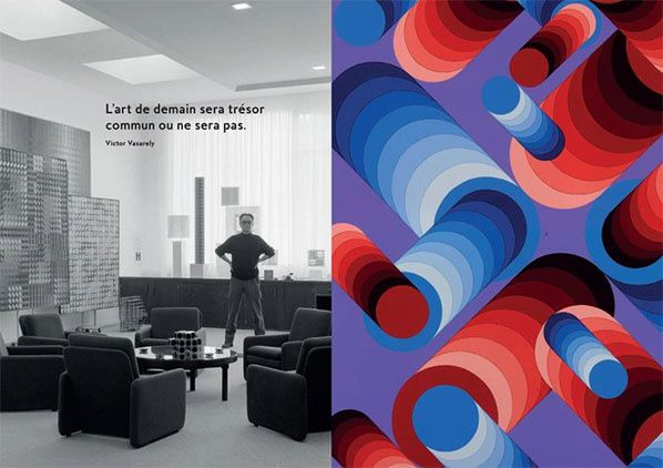 exposition victor vasarely © Succession Victor Vasarely ADAGP Paris, 2019