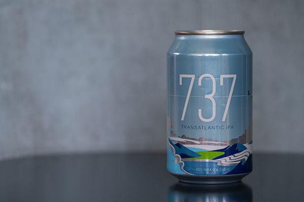 Icelandair releases special-edition 737 Transatlantic Icelandair Pale Ale to mark the first new Boeing 737 MAX 8 plane into its fleet..