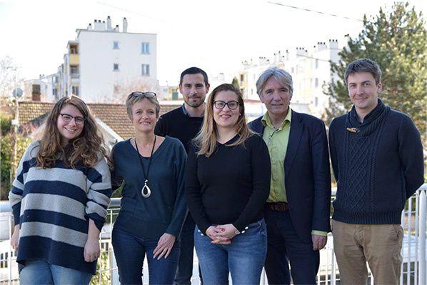 L'équipe projet « Tremplin » - Photo : PATRIMOINE SA Languedocienne