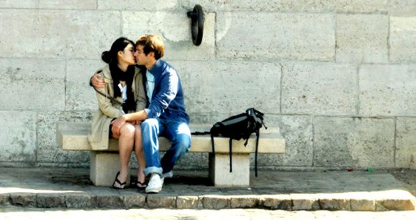 french kiss baiser amoureux