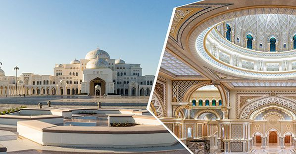 Abu Dhabi's Magnificent Presidential Palace