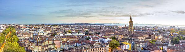 Vue sur Basilique Saint Sernin Toulouse ©Jourdenuit-Florian Calas