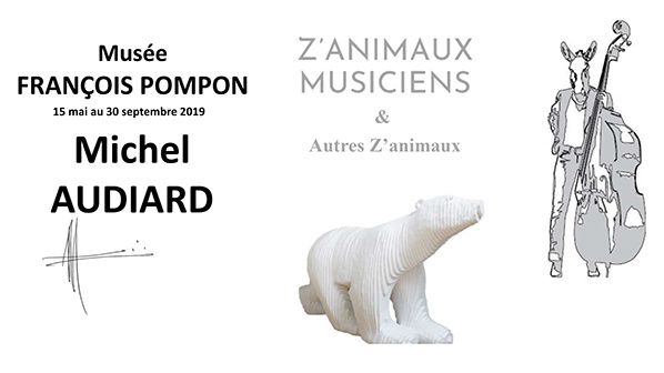 exposition  Michel AUDIARD musee pompon