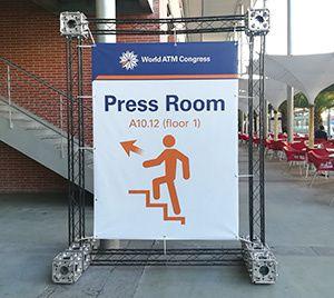 press room world atm congress madrid