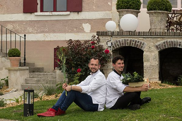 Chef David Gallienne et Chef Benjamin Revel Crédit photo Alma Olene