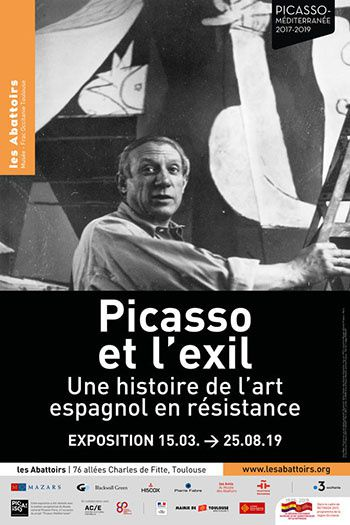 picasso_exil_exposition affiche