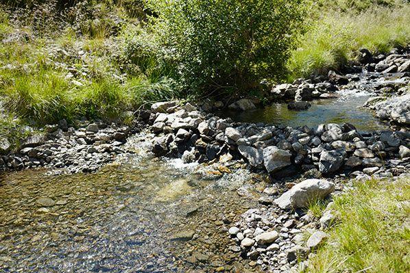ruisseau lac soulcem ariege