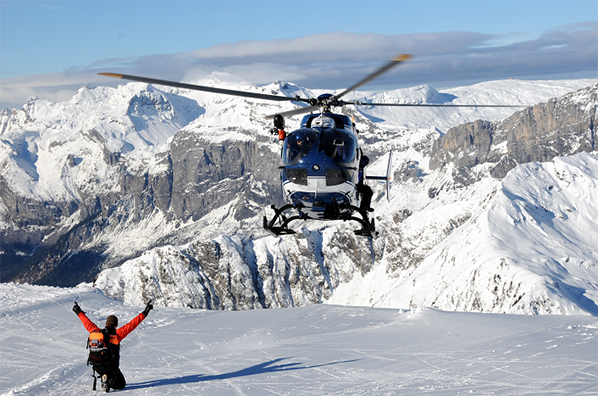 montblanc helicoptere