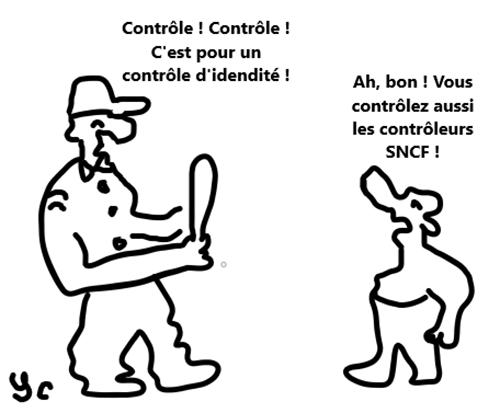 contrôle  papier identite