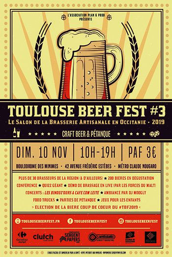 toulouse beer fest 2019 affiche