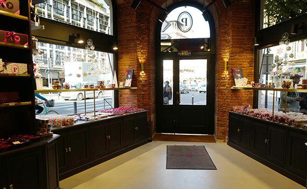 Boutique historique Maison Pillon intérieur