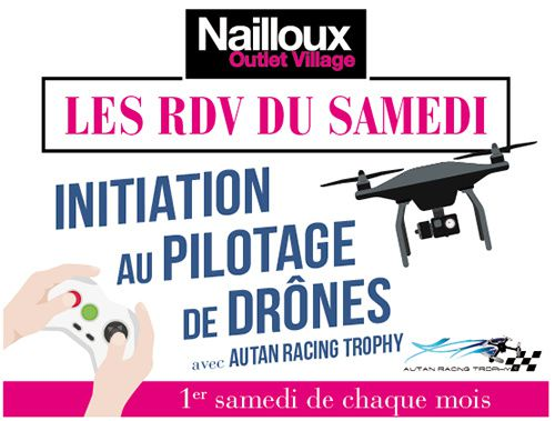 initiation pilotage drone nailloux
