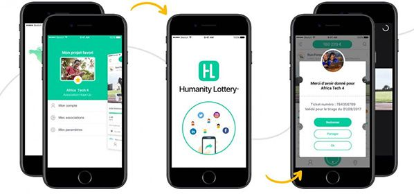 humanity lottery application
