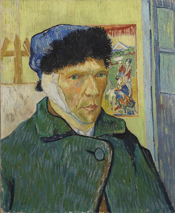 Vincent van Gogh, Self-portrait with Bandaged Ear, 1889, The Samuel Courtauld Trust, The Courtauld Gallery, London