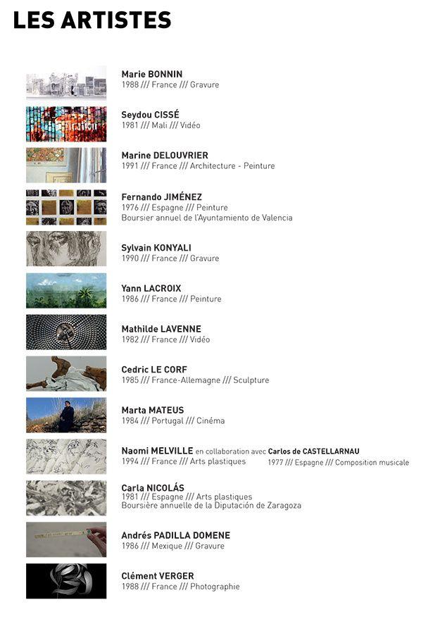 Artistes ITINERANCE - Casa de Velázquez