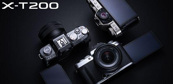 FUJIFILM X-T200 visuel