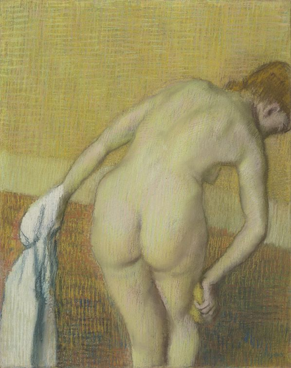 Edgar Degas Woman Bathing