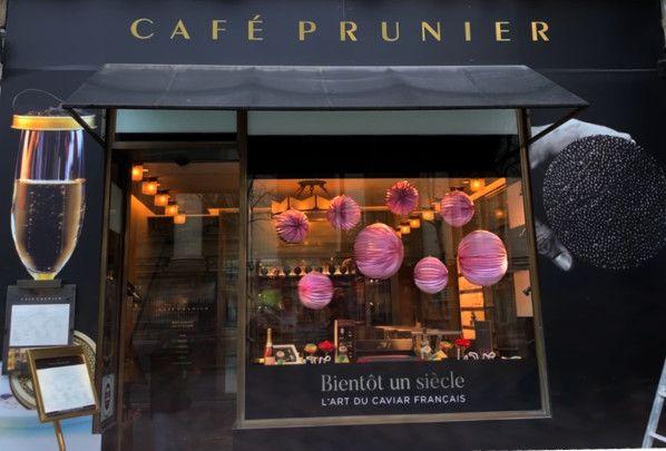 cafe prunier madeleine