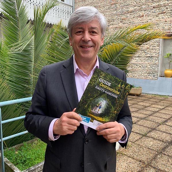 Didier Cujives, Président de Haute-Garonne Tourisme