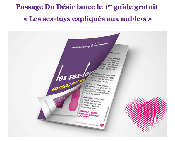 guide sex toys passage du desir
