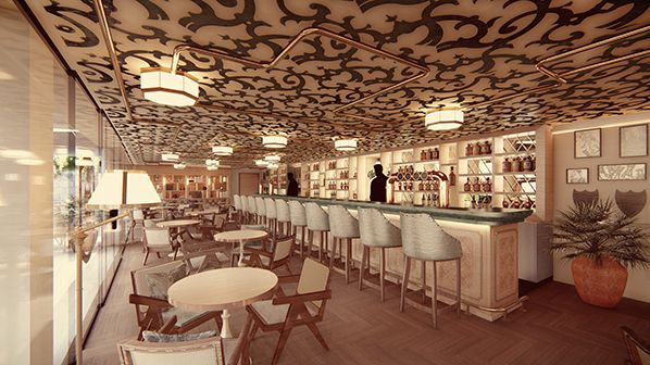 Harry's Bar Cannes_projet_photo © Prospect Design