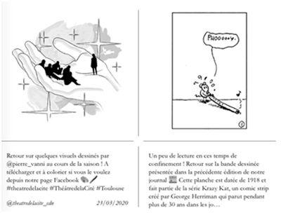 Images lecture Le théâtredelaCité