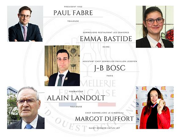 membres du jury Trophée des Terroirs du Sud-Ouest