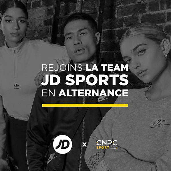 jd sports recrutement alternance