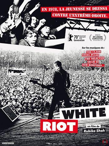 WHITE RIOT affiche