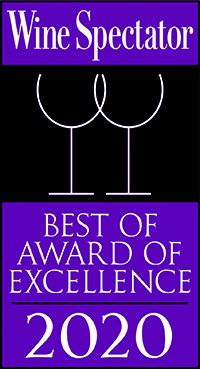 bernieshoot wine spectator best award of excellence