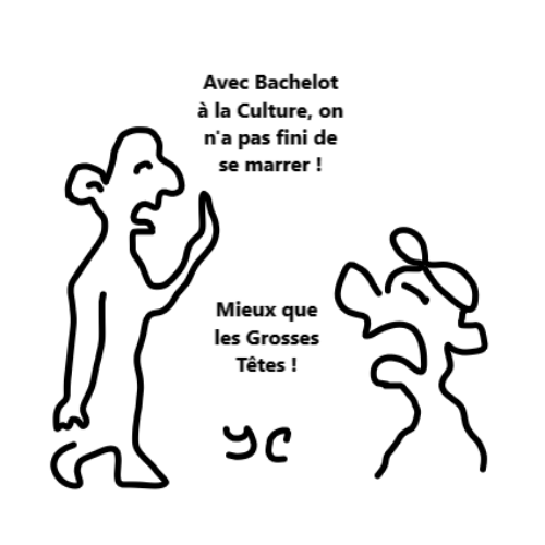 Bachelot ministre culture humour rire