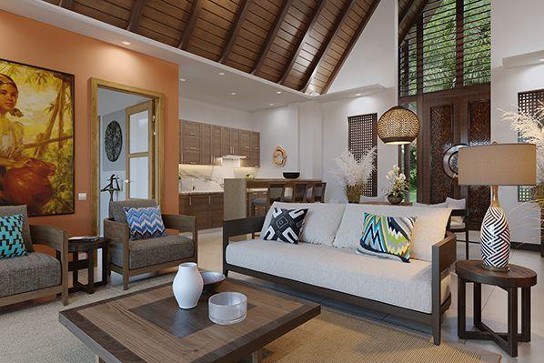 El Nido Beach Spa & Resort two bedroom ocean view villa interior bernieshoot