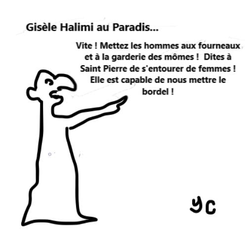 Gisèle Halimi paradis bernieshoot