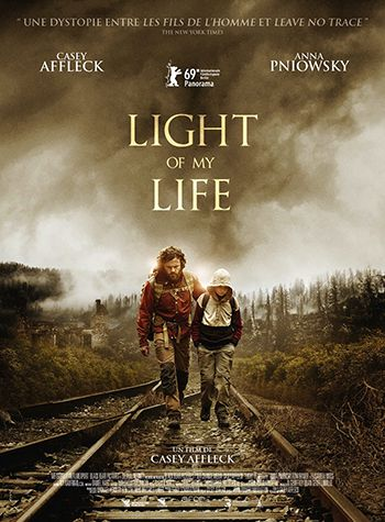 affiche du film LIGHT OF MY LIFE bernieshoot