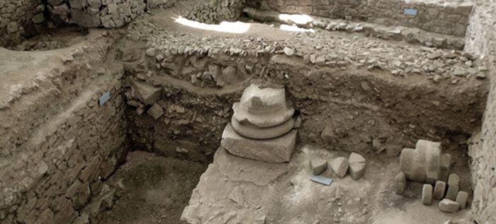 Mont Beuvray en Morvan, Bibracte site de l'ancienne capitale du peuple Éduens, (photo LD)