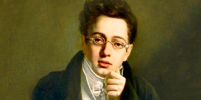 Franz Schubert (1797-1828) à l'âge de 17 ans, école autrichienne, œuvre d'un auteur anonyme