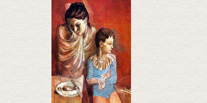 Pablo Picasso, (1881-1973), Une mère et son fils